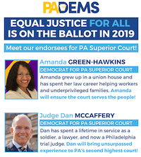 Endorsed Superior Court Candidates for May 21